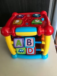 Busy Learners Activity Cube Vtech Port Coquitlam, V3B 0M4