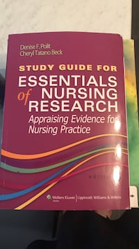 Study Guide For Essentials Of Nursing Research by Denise F. Polit book