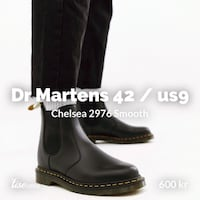 Dr Martens Chelsea 2976 smooth 5941 km