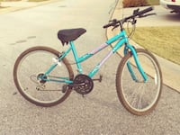teal and black hardtail bike Simpsonville, 29681