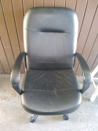 used black leather computer/office chair Bladensburg, 20710