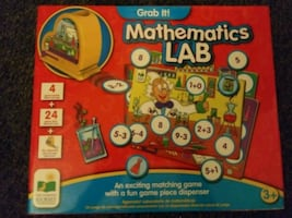 New learning math game