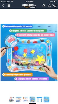 Inflatable Water Playmat for Baby Burlington