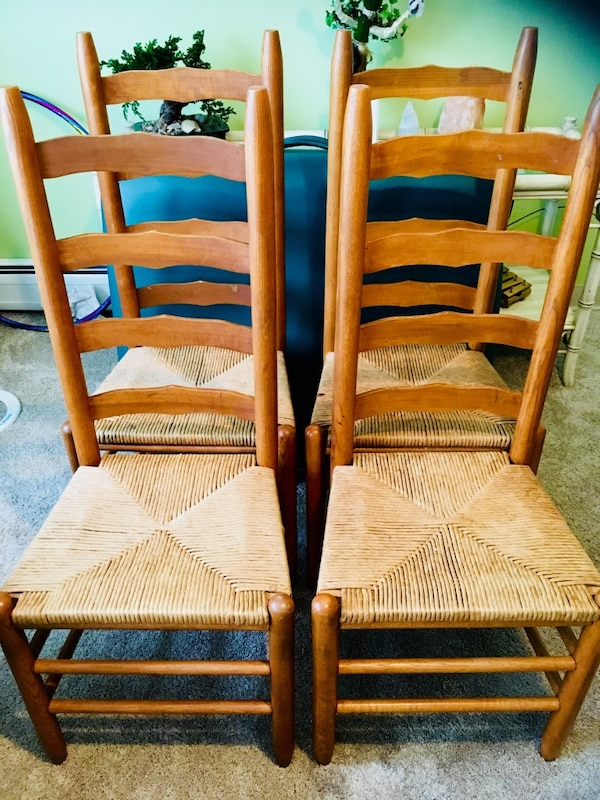 Solid shaker style dining room chairs or accent chairs