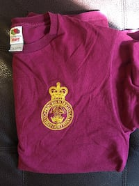 Canadian Royal Burgundy Shirt Size Medium