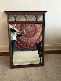 Antique Entry Way Mirror