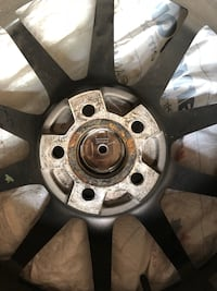 17*7 nearly new rims and all season tires. Bolt pattern 5*100 Mississauga, L5L 3N7