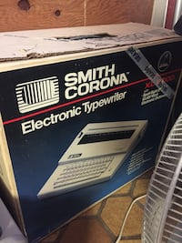white Smith Corona electronic typewriter box Toronto, M3H 2A9