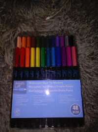 48 pc. Artist's Loft watercolor dual tip markers set pack Kitchener, N2M