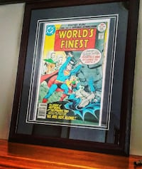 vintage Worlds Finest 1st series framed London, N5Y 5M5