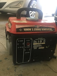 1000 watts 2 strokes gas powered generator Newark, 94560