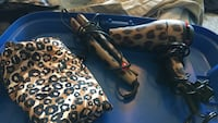 Ionic flat iron blow drier and matching cape Pickering, L1V 1C9