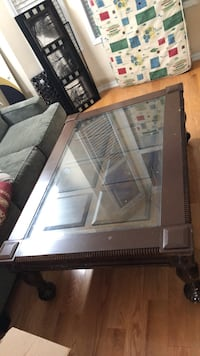 Ashley center coffee table great condition