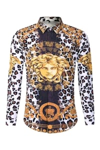Men slim fit Versace sizes S, M, L