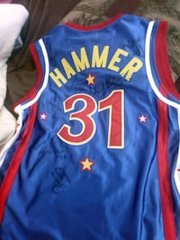 autographed blue and red Hammer 31 jersey top Kelowna, V1X 7G6