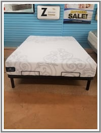 Serta GEL Foam Queen Mattress SILVERSPRING