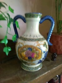 white, blue, and green ceramic pitcher Jacksonville, 32205