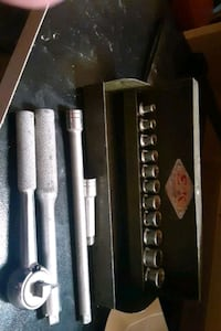 Vintage Sk 1/4 inch socket set in case