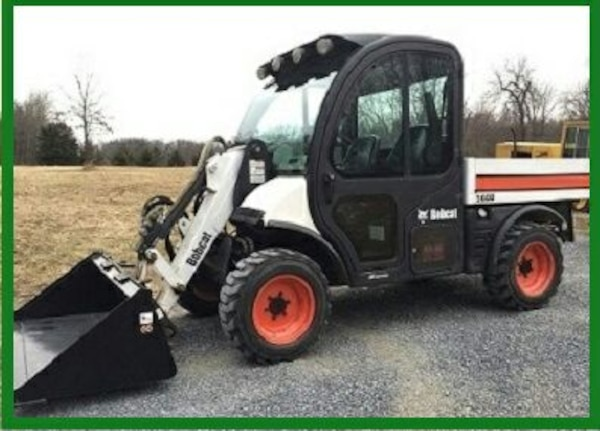 Used Skidsteer Attachment 2oo9 Bobcat 5600 Toolcat For