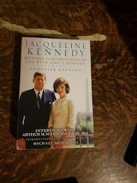 Jackie O book with tapes.  Altoona