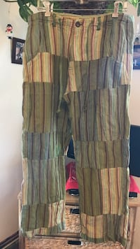 Green and brown pants size L Sierra Madre, 91024