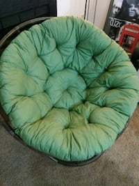 Round papasan chair Centreville, 20120