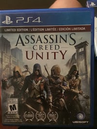 Assassin's Creed Unity PS4 game case Falls Church, 22046