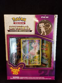 Pokemon Mew Mythical Collection Generations 20th Anniversary Springfield