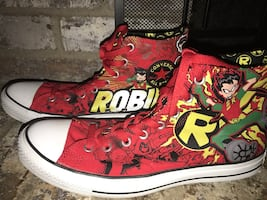 Teen Titans Robin Converse All Star Sneakers