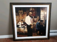 Jazz Canvas Framed Art Pointe-Claire