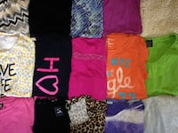 OVER 100...LIKE NEW...WOMENS SMALL..SHIRTS...(ALL ARE SUMMER SHIRTS) New Bethlehem