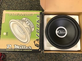 """12"""" Bazooka P Miller Series subs x2. Bought but I never used."""