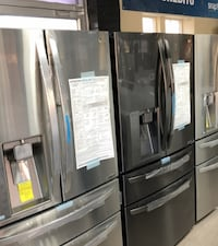 Lots of Lightly Used Stainless Steel Refrigerator and Fridge