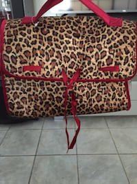 Leopard fold up makeup:travel bag Modesto, 95355