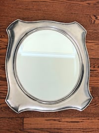 Set of three Pottery Barn framed mirrors Falls Church