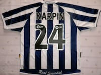 Camiseta Real Sociedad Karpin Madrid