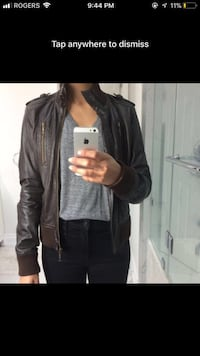 Brown Leather Jacket Mississauga, L5J 4G4