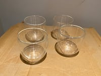 Wine glasses- Bodum double-walled blown glass North Vancouver, V7J 3C6