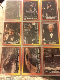 Batman Returns Topps Cards 88 Chantilly, 20152