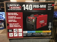 Lincoln Electric 140 PRO-Mig welder new in the box