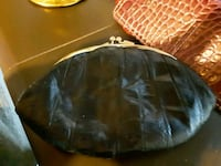 black and gray leather bag Fargo, 58103