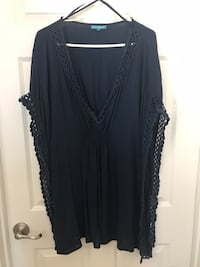 Blue cover up. Size XL   Fresno, 93722
