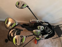 black and gray golf bag with golf clubs Dumfries, 22025
