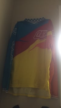 blue-red-yellow racing jacket Vernon, V1T 6W8