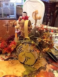 Fall complete lot with center basket and candle holder 50 Fair Lawn, 07410
