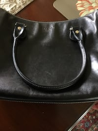 Like NEWBlack leather 2-way handbag KATE SPADE ORIGINAL Hagerstown, 21742