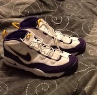 Men's Nike Air uptempo size 12 (Lakers) Inglewood, 90302