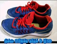 pair of blue-and-red Nike running shoes Las Vegas, 89169