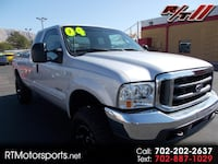 2004 Ford F-250 SD Lariat SuperCab Long Bed 4WD Las Vegas