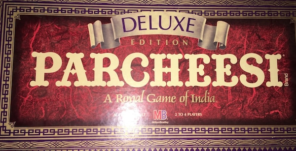 1989 deluxe parcheesi game